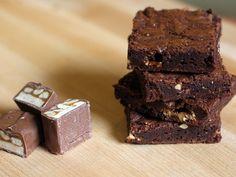 Candy Bar Chocolate Brownies