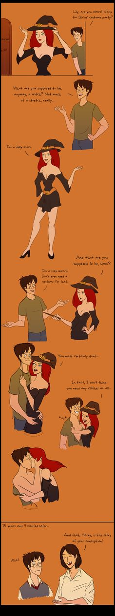October 31, 1979 by =julvett on deviantART Harry's inappropriate godfather is inappropriate