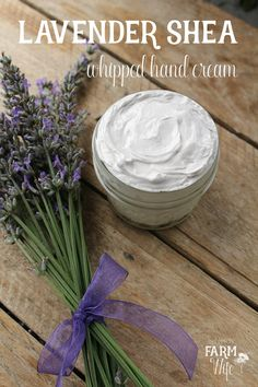Lavender Shea Whipped Hand Cream