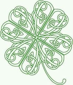 , Celtic Knot Tattoo, Celtic Shamrock, Clovers Celtic, Knot Clovers for my tattoo Four Leaf Clover Tattoo, Clover Tattoos, Celtic Symbols, Celtic Art, Celtic Knots, Irish Symbols, Celtic Dragon, Celtic Patterns, Celtic Designs