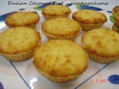 Yochana's Cake Delight! : Durian Coconut Tart
