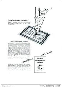 Original-Werbung/Anzeige 1959 - 1/1 Seite - PFANDBRIEF UND KOMMUNALOBLIGATION  - ca. 180 x 240 mm