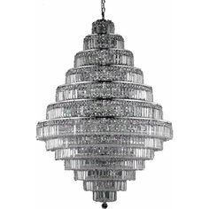 """Maxime 42"""" Crystal Chandelier with 38 Lights (V2038G42)"""