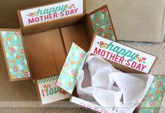 Free printables to put together a cute Mother's Day Care Package