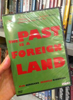 "Our #DVDofTheWeek is ""The Past is a Foreign Land"" by Daniele #Vicari, with Elio Germano and Michele Riondino. You can find these DVDs in #London also at The Italian Bookshop, the only place with the largest collection of Italian #DVD with English subtitles. (Do you like Italian Cinema? Support our ""Italian Docs Online #IDO14 ) #film #cinema #Italy"