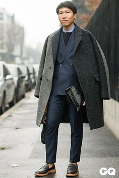 MFW 2015 Source: GQ Italia - Street Style Milano by Monsieur Jerome