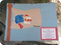 4th of July Kids Handprint Craft