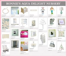 """""""Bonnie's Aqua Delight Nursery"""" 1 of our 5 finalists! Click on over to vote for  your favorite board."""