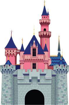 """Photo from album """"Замки"""" on Yandex. Disney Princess Dress Up, Princess Castle, Castle Cartoon, Castle Mural, Castle Illustration, Princess Party Decorations, Pix Art, Bible School Crafts, Château Fort"""