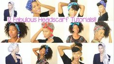 12 Ways To Tie A Head Scarf Read the article here - http://www.blackhairinformation.com/hair-care-2/styling/12-ways-tie-head-scarf/ #headscarf