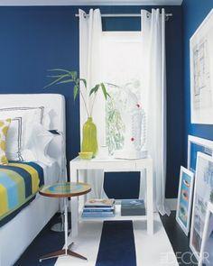 Bedroom blue - floor