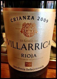 El Alma del Vino.: Señorío de Villarrica Vendimia Seleccionada Crianza 2009.