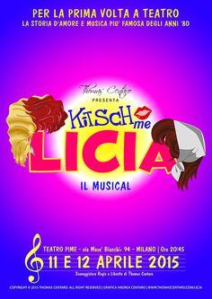 Chi è cresciuto negli anni '80 come me non può non aver visto almeno una puntata del cartone animato Kiss Me, che in Italia arrivò tra il 1985 e il 1986. Ora, la storia d'amore e musica più famosa degli anni '80 diventa un musical... [Stagione teatrale 2014/ 2015]