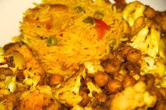 Vegan Chickpea & Cauliflower Curry