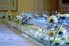 Allestimento tavolo imperiale.