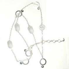 Amazon.com: Indian Jewelry From India Sterling Silver Belly Chains for the Waist 40 Inches: ShalinCraft: Jewelry