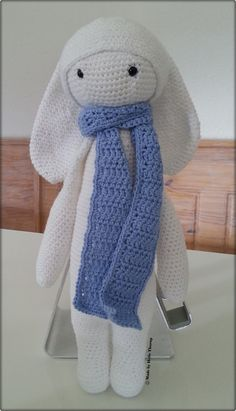 Rita the Rabbit made by Helle Thorup (Design Lalylala) Free pattern on their website