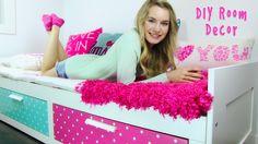 DIY Room Decor! 10 DIY Room Decorating Ideas for Teenagers (DIY Wall Art...