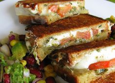 An Edible Symphony: TFF & FIC - Grilled Cheese Forever!