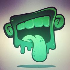 Dirty Mouth. #mouth #dirty #design #drawing #vector #illustration #style #sketch #sticker #slap #graffiti #toon #character #tounge #teeth #open #yuuk #sabasdesign #817 #fortworth #texas | Flickr - Photo Sharing!