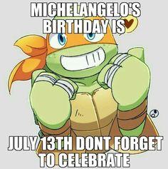 Mikey's birthday