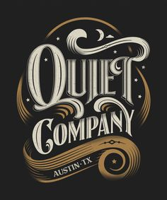 Quiet Company t-shirt by Bryan Todd,