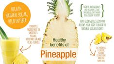 """Know the health benefits of Pineapple! from @ACME Markets board """"Energize!"""""""