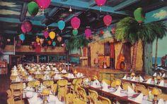 Honolulu Harry's Tiki Bar on Wilson Ave. in Uptown, sometime in the Restaurant Entrance, Restaurant Exterior, Restaurant Photos, Vintage Restaurant, Seattle Hotels, London Hotels, Vintage Tiki, Vintage Hawaiian, Vintage Stuff