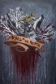 Its My Cake Day and Game of Thrones comes back this week. So here is a painting I made! - Imgur