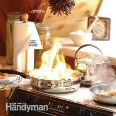 How to Prevent Home Fires -- Most heartbreaking losses are surprisingly easy to prevent. This guide tells you how. // THE FAMILY HANDYMAN Safety And Security, Home Security Systems, Video Security, Emergency Preparation, Emergency Preparedness, Emergency Kits, Fire Prevention, Car Cleaning Hacks