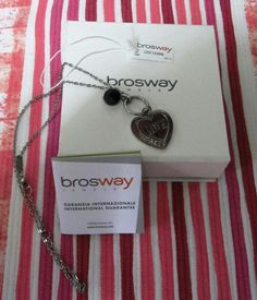 Collana Brosway - Lovecharm #brosway #cuore #heart #gift #regalo #natale #noel #christmas  #babbonatale #mercatino