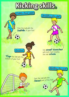 Kindergarten to Grade 2 PE Games – Complete Sport Skill and Games Pack 2018 Teach your kids ALL the sport skills they need › Striking, moving, bouncing, throw & catching, and kicking – turn them into the next generation of sport stars Physical Education Activities, Elementary Physical Education, Elementary Pe, Pe Activities, Movement Activities, Soccer Drills For Kids, Soccer Tips, Soccer Practice, Pe Lesson Plans