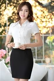 Resultado de imagem para BLUSAS MANGA CORTA COREA Sexy Asian Girls, Beautiful Asian Girls, Business Outfits, Corsage, Asian Fashion, Skirt Fashion, Casual Looks, Asian Beauty, Dress Skirt