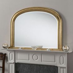 Gold Arch Wall Mirror - x - available to buy online or at Choice Furniture Superstore UK on stockist sale price. Get volume - discount with fast and Free Delivery. Gold Framed Mirror, Gold Mirrors, Wall Mirror, Overmantle Mirror, Beautiful Mirrors, Discount Designer, Wooden Frames, Vintage Designs, House Styles