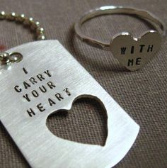 What i will make for my boyfriend and I or what i want him to make for me haha!