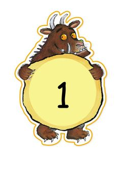 Large letters - only includes Jolly Phonics sets 1 and 2 (plus list of words to make), but it's easy to copy and paste to add extra letters. The number . Gruffalo Eyfs, Gruffalo Activities, Gruffalo Party, The Gruffalo, Book Activities, Toddler Activities, Maths Eyfs, Eyfs Classroom, Math Literacy