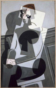 jose victoriano gonzalez, retrato de madame josette gris