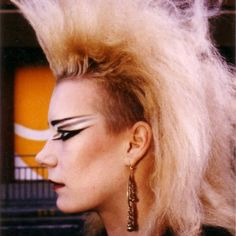 The Union is making the Heavy Metal Force – Gothic Punk Style 80s Goth, 70s Punk, Vintage Goth, Makeup Inspo, Makeup Inspiration, Makeup Ideas, 80s Punk Fashion, Trendy Fashion, Fashion Ideas