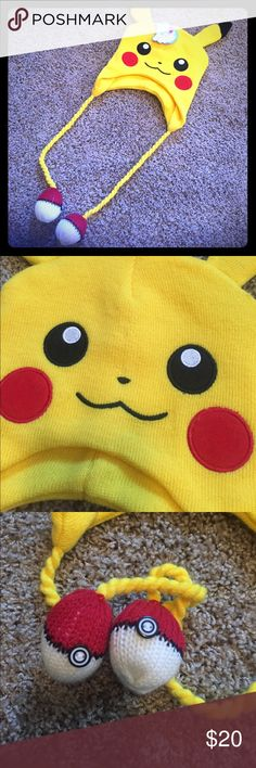 *BRAND NEW* Loot Crate Exclusive Pikachu Hat New with tag Pikachu hat only available in past Loot Crate. Never worn. Pokemon Accessories Hats