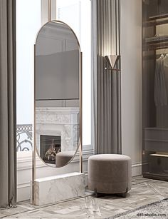 ▪️ Meet our new space made in best traditions of Diff. You will find a strictly seasoned unique style and the distinctive nature of the projects by our team. Dressing Table Design, Contemporary Decor Living Room, Gorgeous Bedrooms, Interior Design, Dream Decor, Interior Inspo, Modern Luxury Bedroom, Dressing Room Design, Luxurious Bedrooms