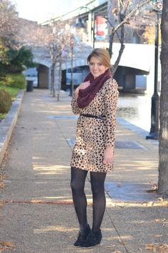 How to Wear a Leopard Print Dress to Work - Fizz and FrostingFizz and Frosting