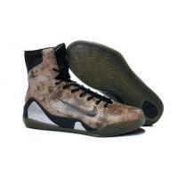 2015 Nike Kobe IX 9 XDR coffee black mens Snakeskin Brown Black