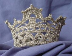 Free crocheted princess crown - patterns