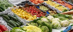 Spend more time in the fruits and vegetables section when going to a grocery. Healthy Life, Healthy Eating, Organic Farming, Fruits And Vegetables, Cobb Salad, Vegetarian Recipes, Ranch Farm, Cooking, Food