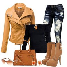 Adore this. Nice fall outfit