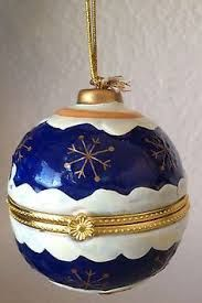 Image result for new coloured delft christmaS balls