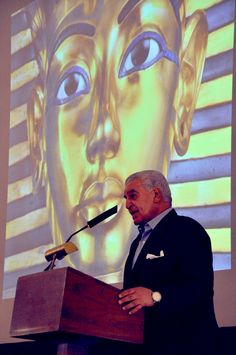 """""""You can like anything,you can love anything. But if you give your passion to anything, you make it great."""" Dr. Zahi Hawass,  famed archaeologist  delivered an astounding speech and shared his adventures with the students and educators present at the 2015 Houston Museum of Natural Science Excellence in Science Awards Luncheon.'"""