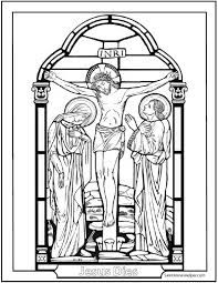 Good Friday Coloring Pages ❤ Printable Stations Of The Cross Pictures: Crucifixion of Jesus Cross Coloring Page, Jesus Coloring Pages, Colouring Pages, Lent Pictures, Cross Pictures, Catholic Catechism, Catholic Kids, Roman Catholic, Apostles Creed