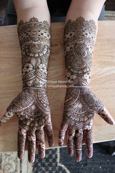 Katherine's bridal henna 2010 © NJ's Unique Henna Art | Flickr - Photo Sharing!