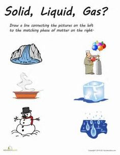 Worksheets Physical science and Science fun